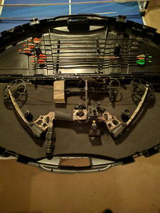 Compound bow plus all accessories