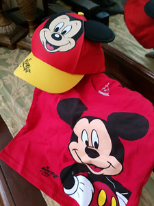 Brand new from Disney Florida 2T Mickey Mouse t-shirt and  hat