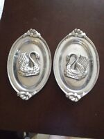 Mexican Pewter Set