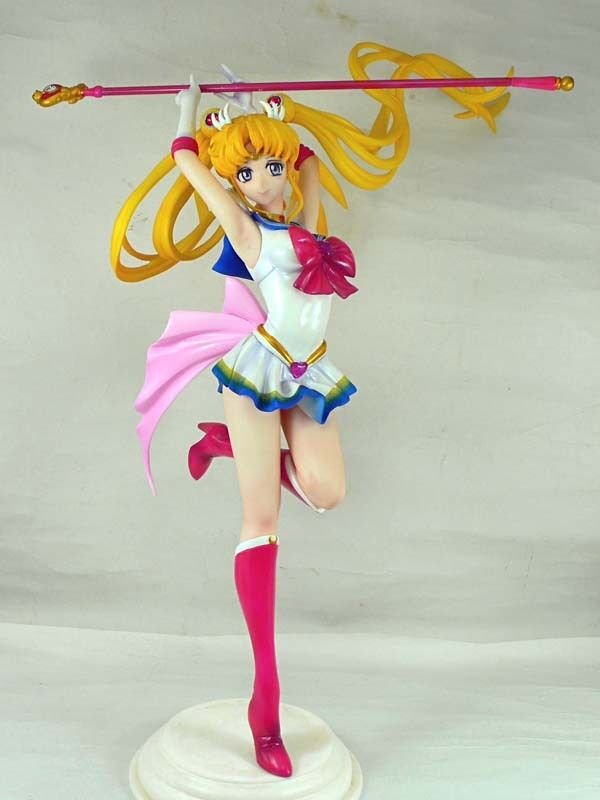 (W_1912)1/6 Super Sailor Moon Unpainted Resin Figure Kit
