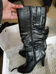 Aldo ladies leather boots