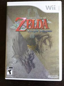 Legend of Zelda Twilight Princess - Nintendo Wii