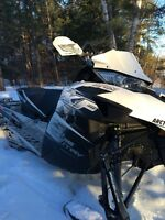 MINT 2014 arctic cat XF pro climb 800 2 stroke with add ons