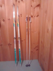 Men's Skis, Poles and Boots