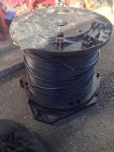 Fibre optic spool