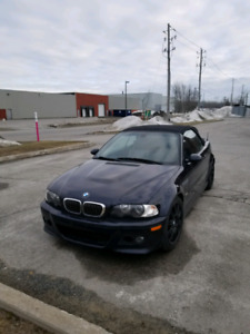BMW M3 e46 2003 convertible manual