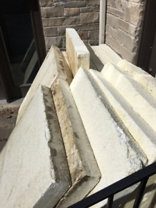 rigid Styrofoam insulation