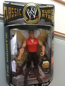 The Mountie Wrestling Figure from 2006