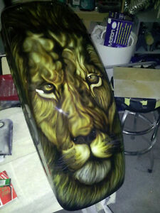 Motorcycle Custom Paint & Airbrushing Windsor Region Ontario image 8