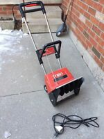 Small electric snowblower 40$