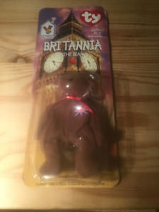 BRITANNIA  THE BEAR-1996 MCDONALDS  WITH ERROR