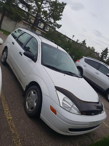 2002 Ford Focus Wagon Senior Owned