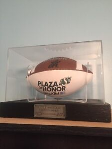 Roughriders Plaza of Honor football