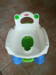 Fisher price potty with sensors and lights and music