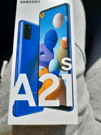 Samsung a21s 32g brand new