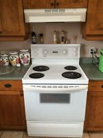 Stove and microwave for sale