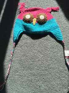 Owl hat for baby/toddler