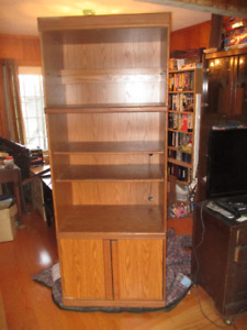 Tall Particleboard Shelving Unit