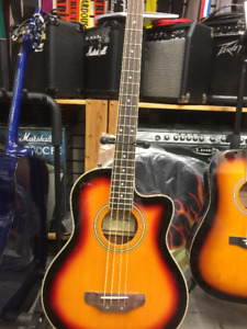 ACOUSTIC BASS with built in preamp INCLUDES Travel Bag