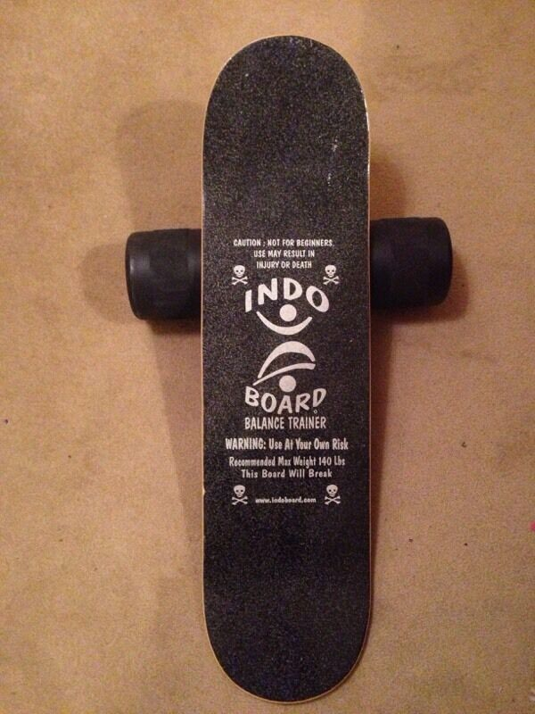 Indo board skate surf balance trainerin Westbury On Trym, BristolGumtree - Skateboard style Indo board and roller. Really good to maintain fitness over winter and improve balance. Good conditionOnly ever used inside. Buyer to collect