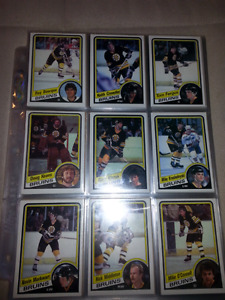 1984-85 Topps Hockey Complete Set