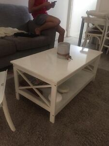 Rustic white coffee table Newtown Inner Sydney Preview
