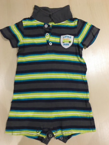 Carter's Baby Boy Playsuit 18M