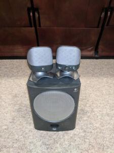 Logitech X-220 Multimedia Speaker System!