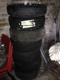 Selection of tyres