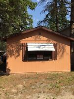 Cabin for sale - clear lake mb. Old campground