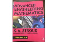 Advanced engineering mathematics book