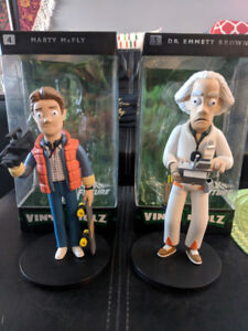 Vinyl Idolz Back to the Future Figures - 2 Pack
