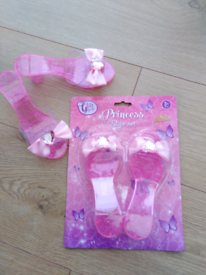Brand New - 2 x Pairs of Princess Shoes.