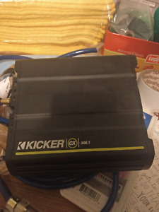 Kicker Cx 300.1 Amplifier