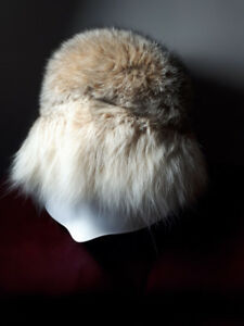 gorgeous fur hat and muff