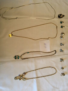 Jewelry all types of chains, broaches