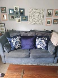 Parker knoll drop arm sofa
