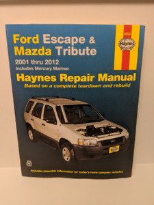 Haynes Repair Manual Ford Escape Mazda Tribute 2001-2012