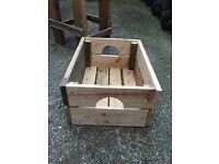 Rustic Apple Crates