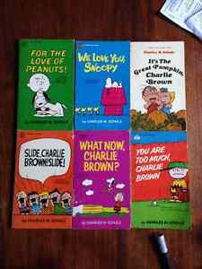 $15 OBO collectable Charlie Brown comic books!