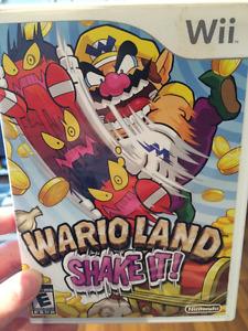 Wario Land Shake It Wii