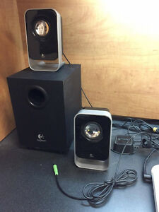 Logitech Speakers with Bass ($35)