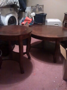 Three Piece Coffee and End Tables