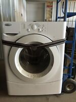 Whirlpool front load washer, free.