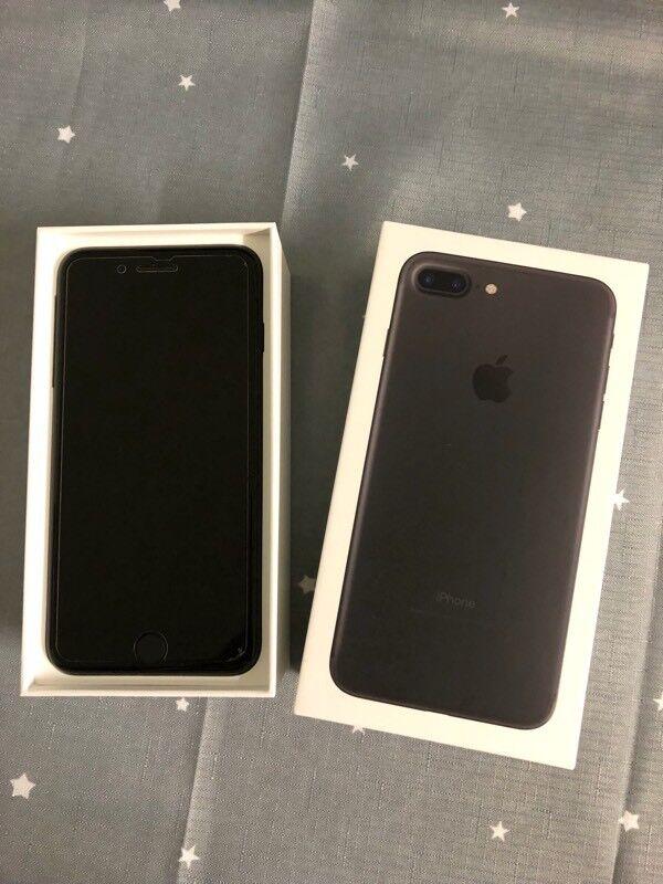 Apple iPhone 7 Plus, 128GB, Black. Immaculate.