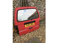 Bedford Rascal engine, gearbox and tailgate