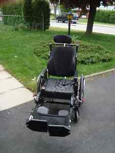 Wheelchair (almost new-used only 2 months)