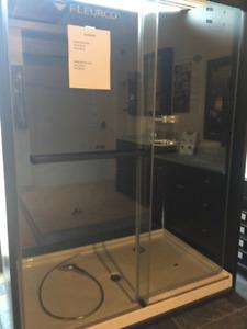 Fleurco Shower door and base