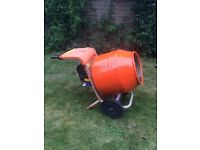 Cement mixer, belle minimix 150. With stand. Electric 240v motor. Concrete mixer