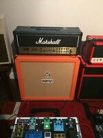 Amps and Cabs for Sale or Trade
